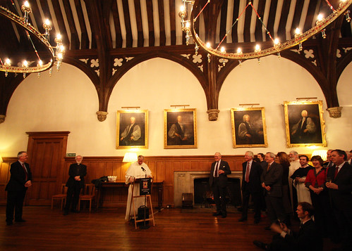 Book launch in Lambeth Palace