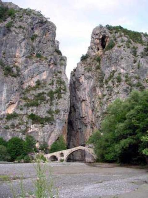Δυτική Μακεδονία - Γρεβενά - Δήμος Θεόδωρου Ζιάκα Γέφυρα Πορτίτσας στο χωριό Σπήλαιο, Γρεβενά