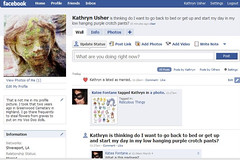 Kathryn is Amazed by the Potential of Facebook