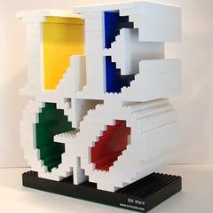 LEGO, Robert Indiana Style