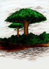 ภาพประกอบต้นไม้