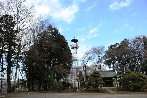 三ヶ島八幡の火の見櫓