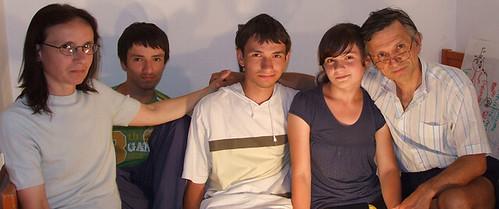 Silvian Guranda şi familia