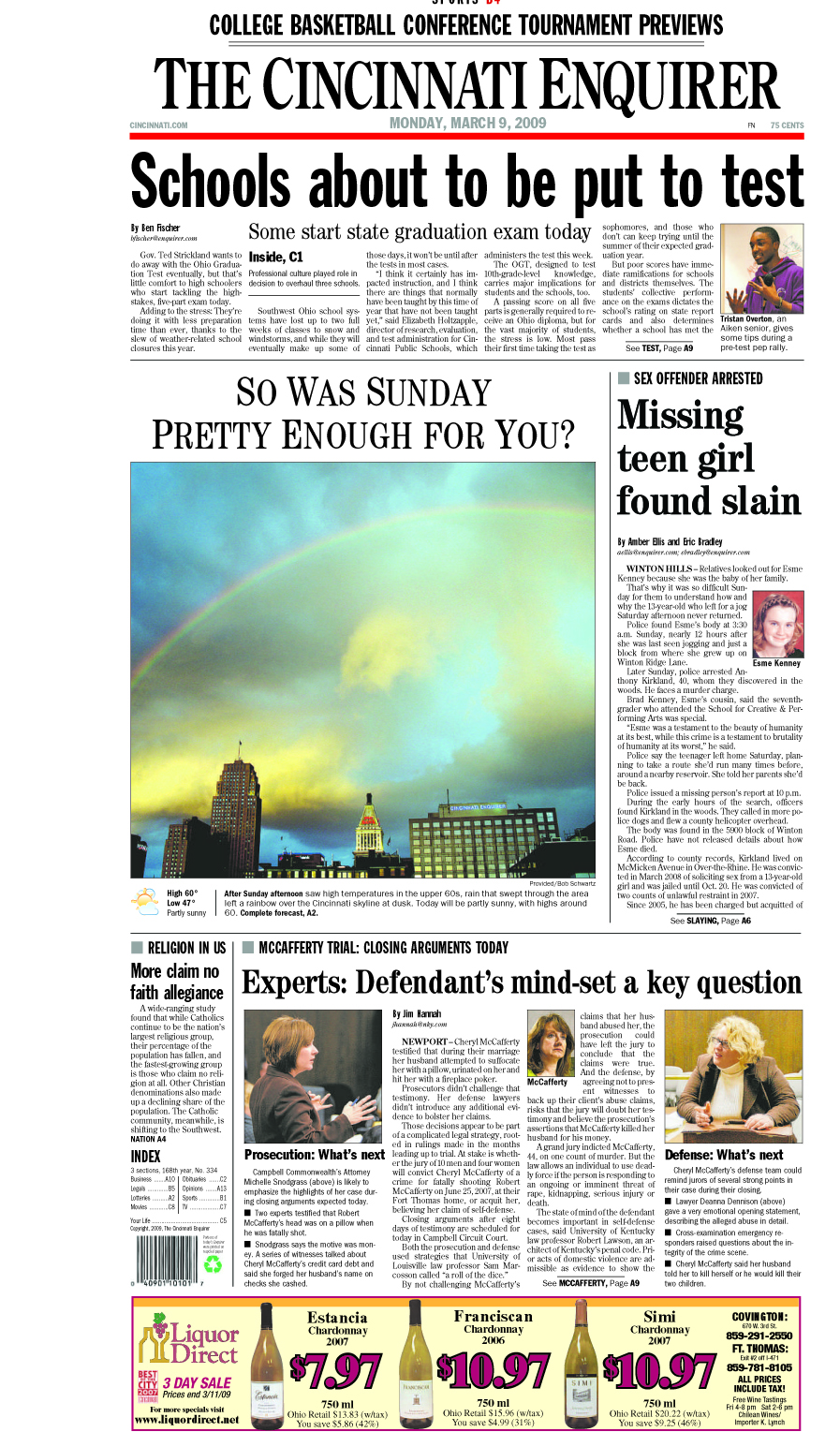 Enquirer rainbow picture