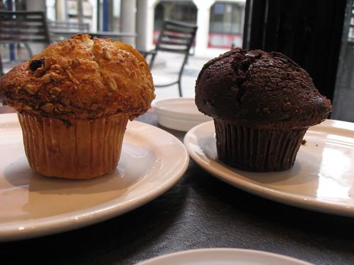 Muffins chez Starbucks