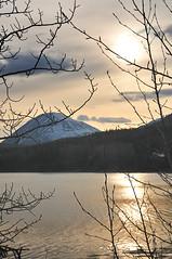 Kenai River Sunset (DCSL) Tags: sunset mountain alaska landscape spring nikon kenaipeninsula kenairiver d300 cooperlanding vr18200 dcsl0726