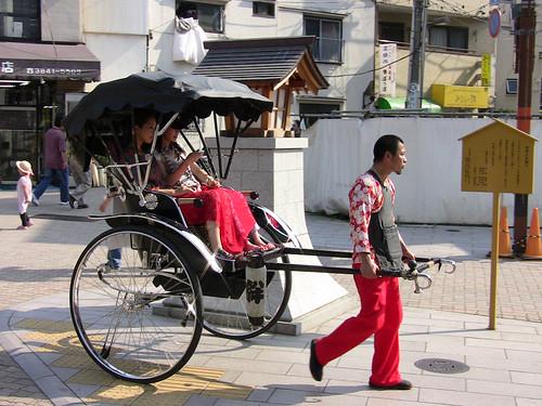 Asakusa rickshaw