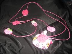 Colar de fuxico interativo (Mar de flores) Tags: flowers flores fuxico yoyo fux croche fuxicos fuxicando crochetando fuxicaria fuxic