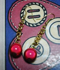 Orecchini Red Parrot Plums (eleanor_m90) Tags: earrings orecchini