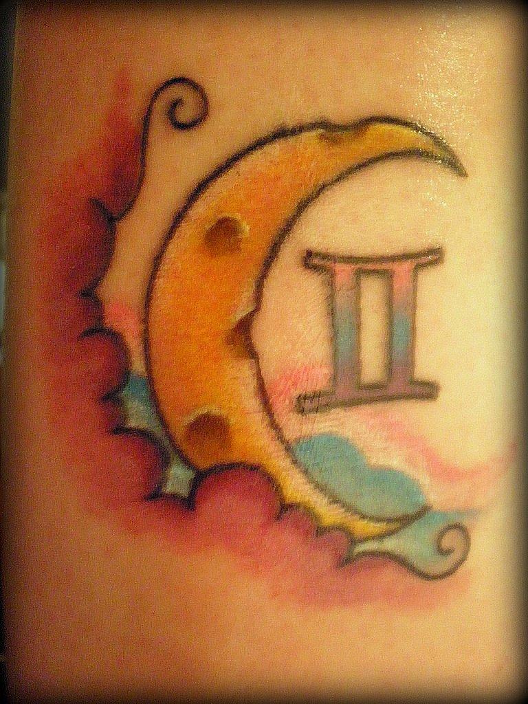 Gemini Symbol Tattoos