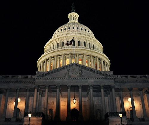 U.S. Capitol Building at Night 2 by Kevin Burkett, on Flickr