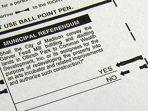 I Voted Last Night on a Strange, Flimsy Photocopied Ballot