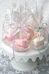 Spring Marshmallow Pops (Glorious Treats) Tags: giant easter spring large marshmallows pops delarosa sweettreats giantmarshmallows