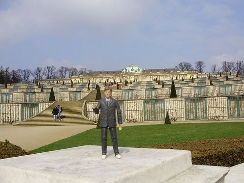 On the lookout at Sanssouci