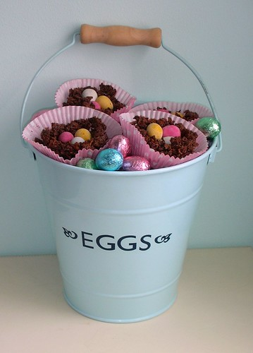 Bucket of Chocolate nests!
