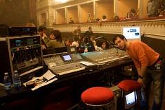 The Dark Side live - Il fonico Luca Pellegrini (Michele Ferretti) Tags: canon teatro 350d theater live pinkfloyd concerto 1740 orvieto thedarkside fonico mancinelli lucapellegrini