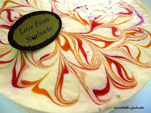 星巴克芒果乳酪蛋糕