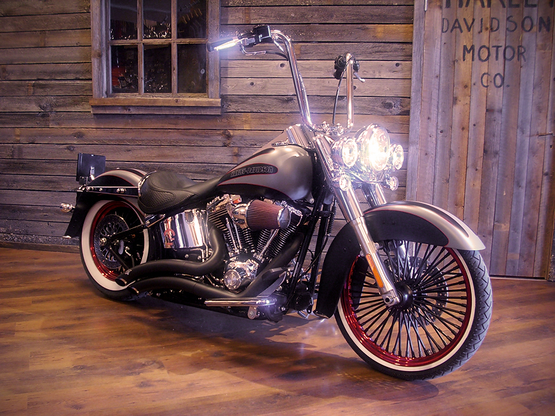 2008 Softail Deluxe Custom | Motorcycles & Build Ideas ...