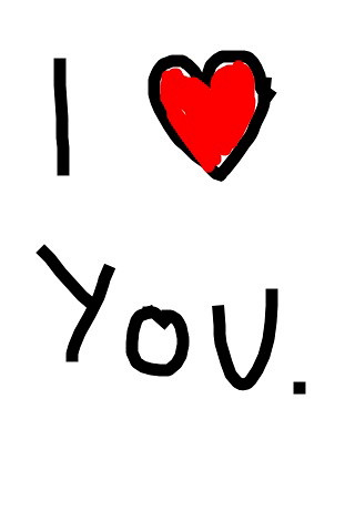 I love you by benleto.