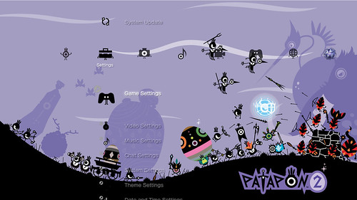 Patapon 2 Battlefield PS3 theme