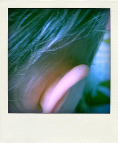 her ear