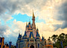 Disney - Cinderella Castle After the Storm by Express Monorail