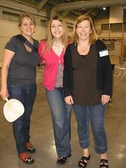 Gina, Me and Shari!