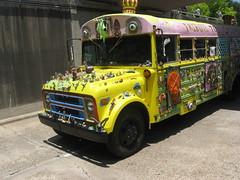 art car bus (Luthien T) Tags: houston artcarparade
