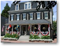Flag House Inn, Annapolis (Bill & Charlotte Schmickle, innkeepers & owners)