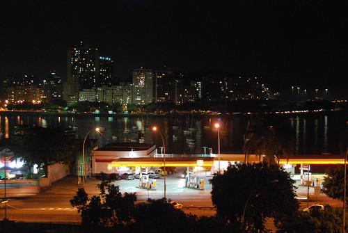 Visual do terraço, onde rolou a última aula. O Rio é o Rio. Ponto.