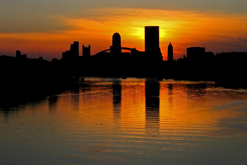 pittsburgh sunset - 15 may 2009