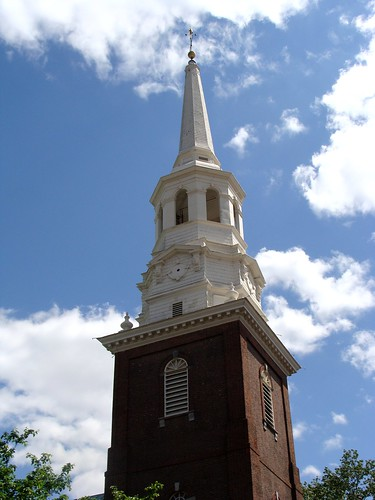 Christ Church, steeple