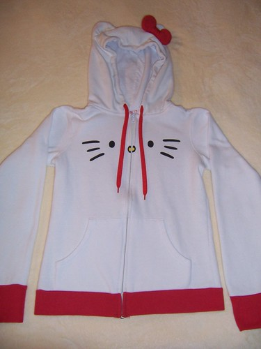 I AM Hello Kitty Hoodie RED Bow