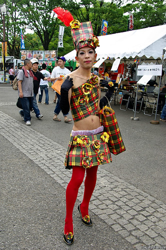 Pride Festival Fashion in Japan