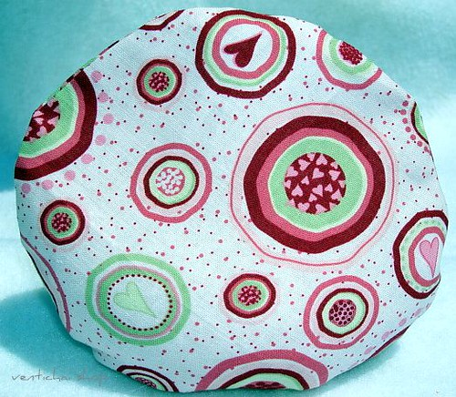 Girly Hearts and Dots On My Pink Boo Boo Dot Round Pouch