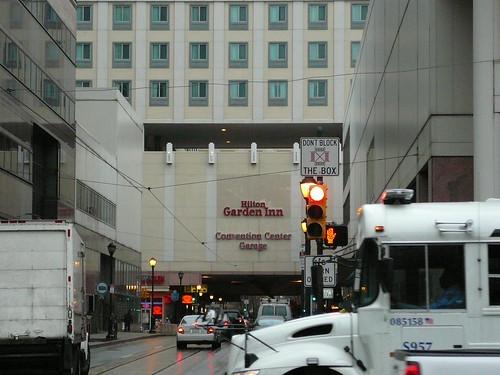 The Hilton Garden Inn where we stayed