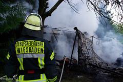 Gartenhausbrand Kirschbaum 29.05.09