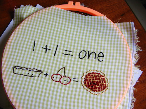 1+1=one, all done
