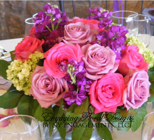 Purple Wedding Flowers For Bouquets and Centerpiec
