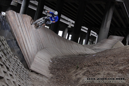Jason Van Horn on the wall ride