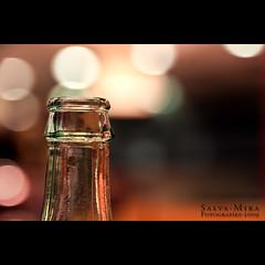 Happy Bokeh Sunday (Salva Mira) Tags: lights hotel luces bottle bokeh hbs botella bottleneck llums deltadelebre ampolla deltadelebro cuellodebotella salvamira colldampolla