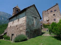 P1010042 (ezioman) Tags: italy building castle church architecture europa europe castello trentino dolomites altoadige sudtirol castlechurch appiano schloshocheppanhocheppan
