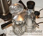 Vintage Vesuviana Electric Coffee Maker