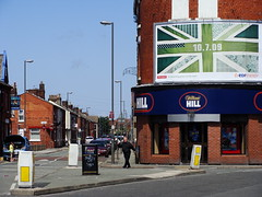 William Hill outside Goodison Park