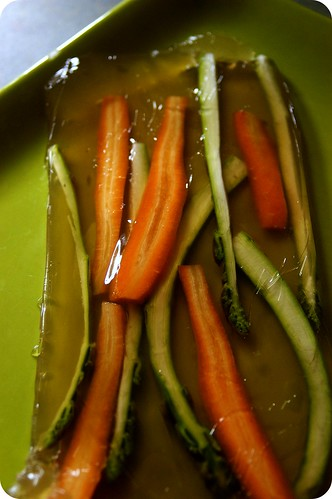 vegetables in homemade aspic
