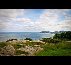 The Top of Victoria Hill, Killiney (Gerg) Tags: ireland sea dublin mountain seascape macro canon landscape geotagged coast dc view stones sigma mountines bray 500d brayhead 1770mm victoriahill f2845 sigma1770mmf2845dcmacro canoneos500d