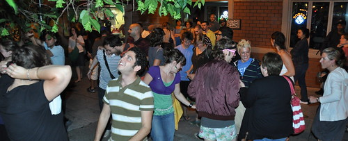June 25, 2009: Mourners form spontaneous Michael Jackson dance party in downtown Ithaca