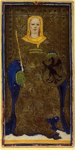 003-La Emperatriz-Tarot Visconti-Sforza