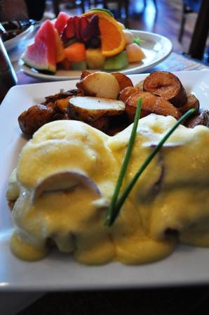 Breakfast at Blue Fox Cafe, Victoria, B.C.