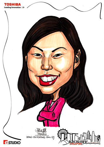 Caricature of Jovie